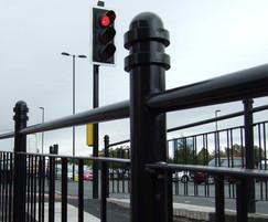 Decorative pedestrian guardrails - DG1112 - Rochdale