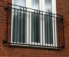 The Rufford style Juliette balcony