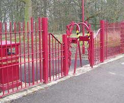 Decorative Railings and Gates - Middleton Park, Leeds