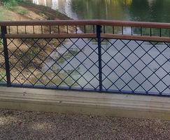 Decorative Railings, Herschel Park, Slough