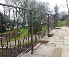 Alpha Rail: Metal railings for a listed building