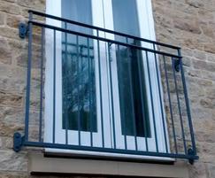Byron style Juliette balcony