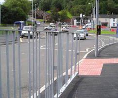 mild steel galvanized V4 Pedestrian Guardrail