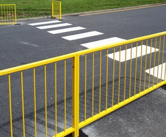 Walkway barrier for Sangenic International, Mansfield