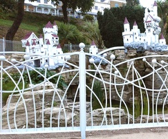Bespoke decorative railings, Southend-on-Sea