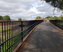 Pedestrian Parapet - Selly Oak Park, West Midlands