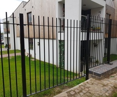 Vertical bar railings for sustainable housing