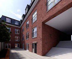 Richmond Police Station -Juliette balconies