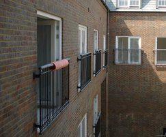 Juliette balconies - Richmond Police Station
