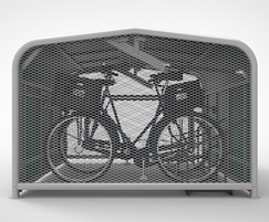 FalcoPod cycle hangar for on-street parking