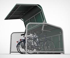 FalcoPod cycle locker for on-street storage