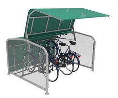 Falco UK: New FalcoPod on-street cycle hangar launched