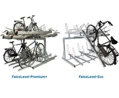 Falco UK: FalcoLevel two-tier cycle racks to suit all budgets