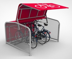 FalcoPod robust solution for on-street cycle parking