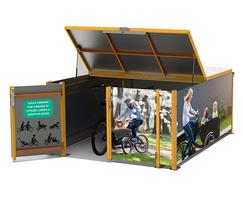 Falco UK: Falco launches FalcoCargobox Secure Cargo Bike shelter