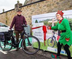 Falco UK: Moray Car share charity Extends New e-Bike Service