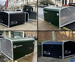 FalcoPod - residential bike hangars for London Boroughs