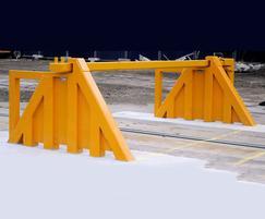 GC1100CR high impact hinged security gates