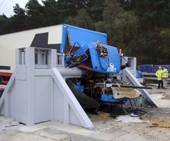 SG1500CR high impact crash rated sliding gates