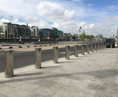 IWA 14-1 Bollards stainless steel