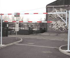 Vehicle Height Restrictor Barrier