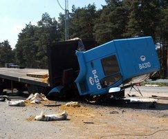 Scimitar Bollards crash tested to PAS 68
