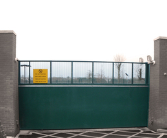 Garrison Ballistic Protection Gate