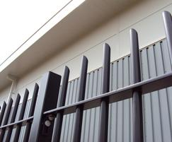 StyleGuard R - round tubular railings, mitred top