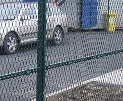 FASTGUARD expanded metal mesh fencing