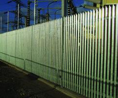Stronguard™ maximum security palisade fencing