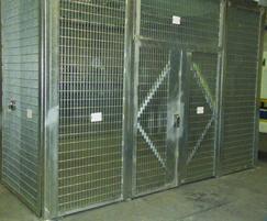 ASSETGUARD CS3/CS4 security cages