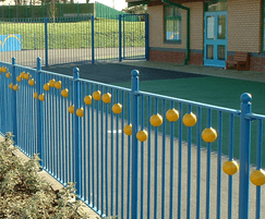 Barkers Designer Range  - bespoke railings for school