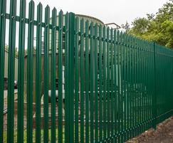 StronGuard SR2 - high security steel palisade fencing