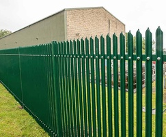 StronGuard SR2 - robust palisade fencing