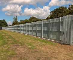 StronGuard SR3 fencing - an imposing visual deterrent