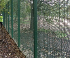 SecureGuard 358 high security wire mesh fencing system