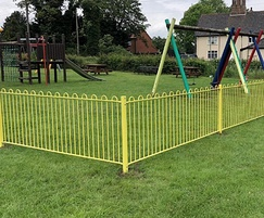 Playsafe is ideal for outdoor playgrounds