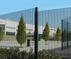 SecureGuard 358 wire mesh security fencing