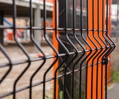 VGuard mesh fencing for construction site perimeter