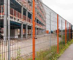 Perimeter fencing for new student accommodation site