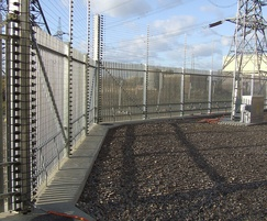Boundary protection for electricity substation