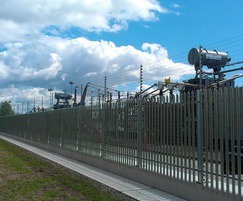 StronGuard™ fencing for electricity substation