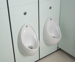 Direct Flush infrared sensor controlled urinal valve