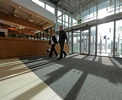 CS Tetras™  carpet tiles at Roadchef entrance