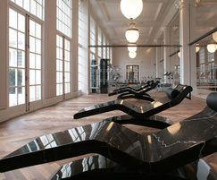 Leisure suite within luxury development