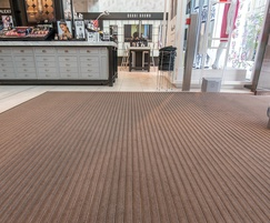 Pediluxe entrance mats with Espresso carpet inserts