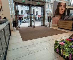 Pediluxe entrance mats for Fenwick department store