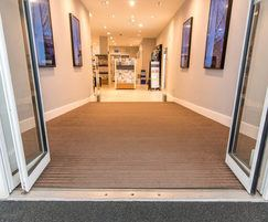 Pediluxe entrance mats Espresso carpet inserts