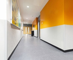 Effective protection to exterior corners in schools