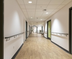 Handrails for new health care village